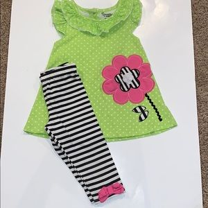 Nannette girls 2 piece outfit